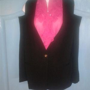 Michael Kors cold shoulder blazer